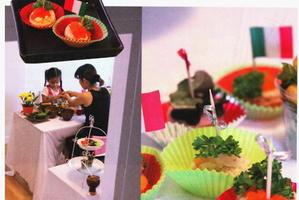 ลงสัมภาษณ์สอนเด็กทำอาหาร elle decoration Magazine On December 2009
