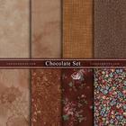 ผ้าคอตตอนนอกจัดเซ็ท Chocolate Set (8ชิ้น)