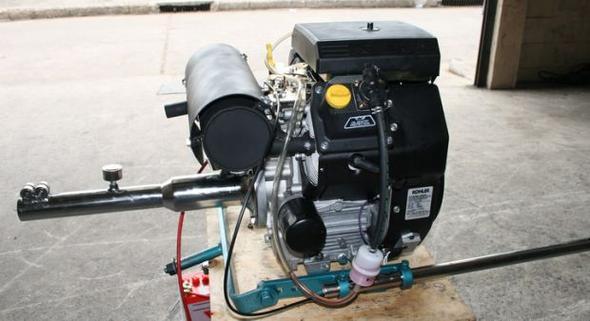 SPS with Kohler 23 HP-2
