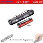 ไฟฉาย JetBeam E10R 650Lumens ชาร์จ USB