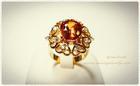 GR0002 แหวนทองบุษราคัม