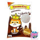 ทรายแมว crown cat กลิ่นช็อกโกแลต จับเป็นก้อนดี ฝุ่นน้อย สำหรับแมวทุกวัย 5 ลิตร