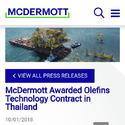 McDermott International awarded a sizeable* technology contract for Map Ta Phut Olefins Co., Ltd., by chemwinfo