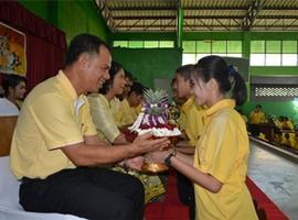 กิจกรรมวันไหว้ครูและมอบทุนการศึกษา ประจำปีการศึกษา ๒๕๕๙