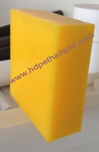 UHMWPE(PE1000) แผ่น สีเหลือง จากเยอรมัน