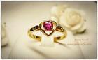 GR0015 แหวนทองทับทิม