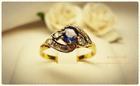 GR0004 แหวนทองไพลิน