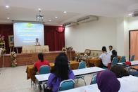 30 มิ.ย. 2561 การประชุมผู้ปกครองโครงการส่งเสริมศักยภาพนักกีฬา