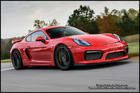 กันชนหน้า Porsche Cayman/Boster GT4 พร้อมลิ้นหน้าคาร์บอน