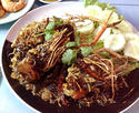 NO. SF16 กุ้งราดซอสมะขาม (Shrimp with tamarind sauce)