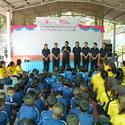 ท็อป โซลเว้นท์ ได้ออกทำกิจกรรมจิตอาสา H2O ครั้งที่ 1 ทีโรงเรียนบ้านคลองใหญ่ จังหวัดชลบุรี
