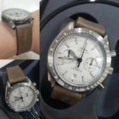 Omega Speedmaster with Strap Calf Old Bags No.12.