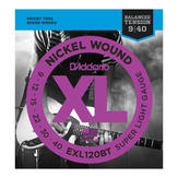 ��¡յ���俿�� D'Addario EXL120BT Nickle wound,Balance tension, Super light ���� 09