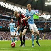 ไฮไลท์ฟุตบอล พรีเมียร์ลีก : แมนเชสเตอร์ ซิตี้ vs บอร์นมัธ
