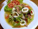 ืNO. SS06 ยำปลาหมึก (Spicy squid salad)
