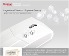 YooBao Swarovski Power Bank แบตสำรอง 7800mAh