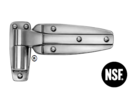KASON 1245 : บานพับประตูห้องเย็น (REVERSIBLE CAM-RISE HINGE) ขาต่ำ/ขาสูง 0.0 มม, 1.3/8�