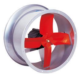พัดลมท่อ (Axial Fan)