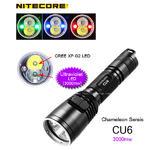 ไฟฉาย Nitecore CU6 ไฟฉาย UV,แดง,เขียว,น้ำเงินและแสงขาว