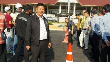 ตรวจพื้นที่เตรียมการต้อนรับนายกรัฐมนตรี เดินทางมาเป็นประธานเปิดป้ายสถานีรถไฟจังหวัดขอนแก่น