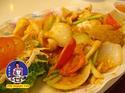 ปลาหมึกผัดไข่เค็ม สูตรสินธุสมุทร