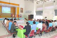 ประชุมผู้บริหารโรงเรียนสังกัดองค์การบริหารส่วนจังหวัดชัยภูมิ