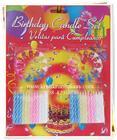 ชุดเทียนวันเกิด พร้อมฐาน เทียนแฟนซี แต่งเค้กวันเกิดด้วยเทียนสีสวยงาม เพิ่มความพิเศษให้กับวันสำคัญ