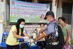 �ลัดหลวง� ควบคุมโรค ออกหน่วยฉีดวัคซีนโรคพิษสุนัขและแมว ฟรี!