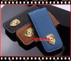 ซองหนังใส่กุญแจรถ  porsche คาเยนน์ จีทีเอส (Cayenne GTS)  พอร์ช หรือ ปอร์เช่,Panamera สีน้ำเงิน