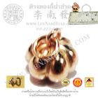 จี้ห้อยคอรูปฟักทอง(น้ำหนัก1.2กรัม) นาค40%