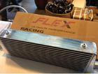 Inter cooler FLEXแท้ หลอดเหลี่ยม มีฟินซ้อนด้านในหลอด