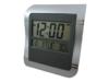 GooAB Shop นาฬิกาแขวนผนัง ดิจิตอล ขนาด 9 นิ้ว ( สีเทา )
