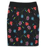 กระโปรงผ้าญี่ปุ่นพิมพ์ลาย Pocket Contain Botton Point Skirt