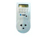 TOSHINO ปลั๊กไฟตั้งเวลา ระบบ Digital พร้อมระบบกันไฟกระชาก รุ่น TS-EB1 - สีขาว