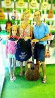 Thank you very much for choosing of our guitar and we hope you will enjoy it.