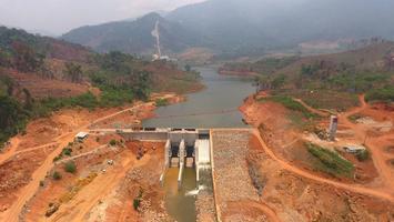 BGRIM COD โรงไฟฟ้าพลังน้ำ น้ำแจ ที่ สปป.ลาว