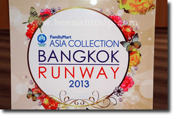 Asia Collection Bangkok Runway 2013 : Marihorn