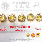 เหรียญรัชกาลที่๕(3กษัตร)ล้อมพลอยขนาดกลาง(ขนาด12มิล) ทอง 90%