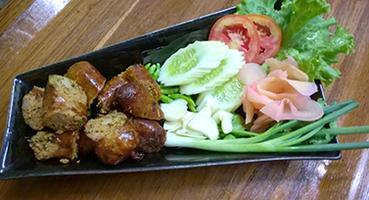 NO. DF03 ไส้อั่ว (Northen thai spicy sausage) งดจำหน่าย