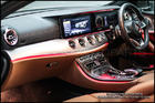 ชุดครอบแอร์วงแหวนสีแดง E400 Coupe AMG