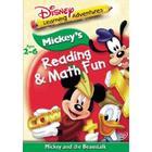 DVD Mickey's Reading & Math Fun #Mic04#