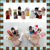 ตุ๊กตานิ้วมือการ์ตูน (แพค 10 ตัว)