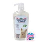 โด เร มี แชมพูสุนัข แชมพูแมว Crystal Chorus 3 in 1 สำหรับผิวแพ้ง่าย หรือลูกสุนัข ลูกแมว 1000 ml.