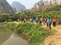 ลงพื้นที่สำรวจแหล่งน้ำเพื่อแก้ไขปัญหาภัยแหล้งและบรรเทาความเดือดร้อนให้แก่ชาวบ้าน บ้านห้วยจะค่าน ชุมชนบ้านใหม่ลีซู หมู่ที่ 9