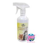 สเปรย์อาบแห้ง  บำรุงขน  (ไม่ต้องล้างออก) สำหรับแมว และกระต่ายทุกสายพันธุ์ 500ml