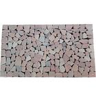 Stone mat พื้นหินสำเร็จรูป วัสดุปูพื้นลายหิน หินปูพื้น ตกแต่งบ้าน รุ่น DM714 สี Pink ขนาด 70x40 ซม. ราคา 699 บาท/ชิ้น