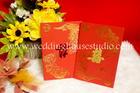 การ์ดแต่งงาน แบบจีน สีแดง รหัส A 89