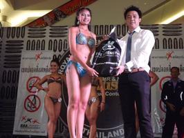 ไอเอสเอ็น ประเทศไทย ร่วมเป็นผู้สนับสนุนหลัก การแข่งขันหนุ่มกายงาม สาวกล้ามสวย 2013