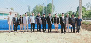 โครงการปรับปรุงภูมิทัศน์สนามฟุตบอลหญ้าเทียม