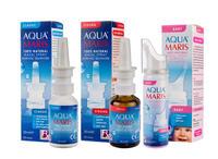 ผลิตภัณฑ์ �อควา มาริส� (Aqua Maris) สเปรย์สำหรับพ่นหรือล้างจมูก
